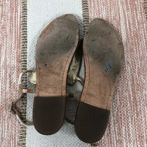 Sam Edelman Shoes - Sam Edelman Gail Beaded T-Strap Sandal